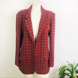 Vintage Eddie Bauer Plaid Jacket